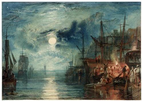 016-Carboneros en el rio Tyne 1823-acuarela-J. M. W. Turner-via tate.org.uk