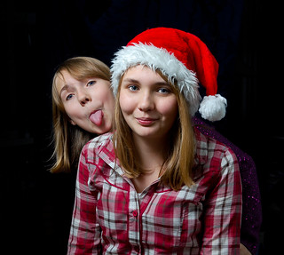 Merry Christmas from Fiona and Isobel