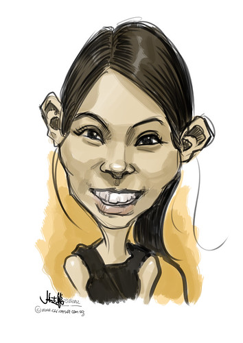 digital caricature live sketching for Vacheron Constantin - 2