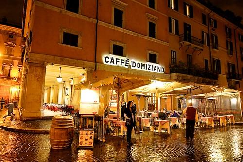Caffe Domiziano, Piazza Navona, Rome, Italy