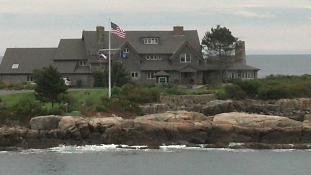 Summer Home Of President George H W Bush Kennebunkport Ma Flickr