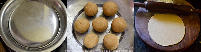 How to make phulka - Step2