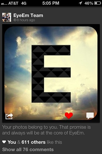 EyeEm Promise to Users