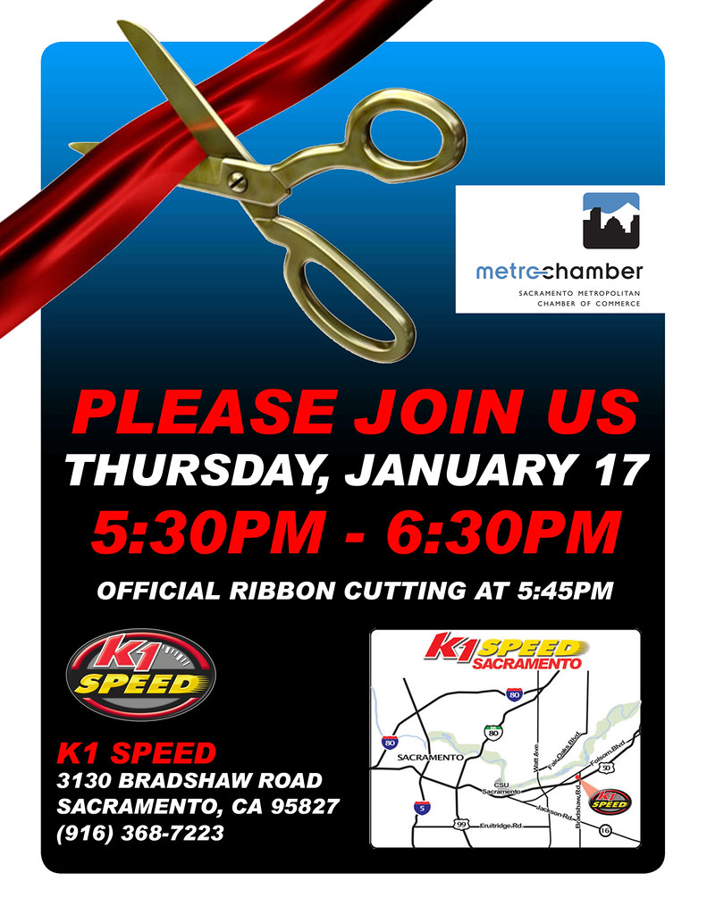 8310551677 8ee75803bc b K1 Speed Sacramento Ribbon Cutting