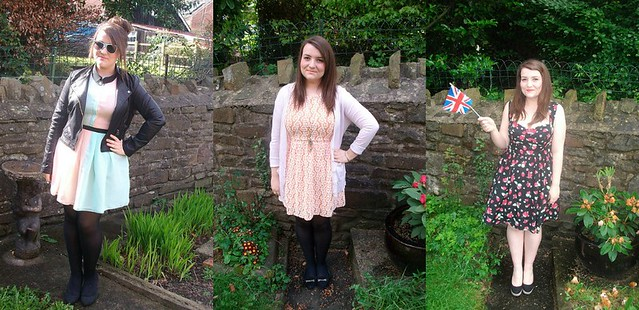 april, may, june 2012 outfits