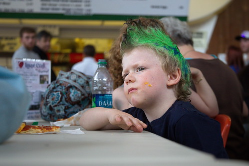 Kid at the fair by The Bacher Family