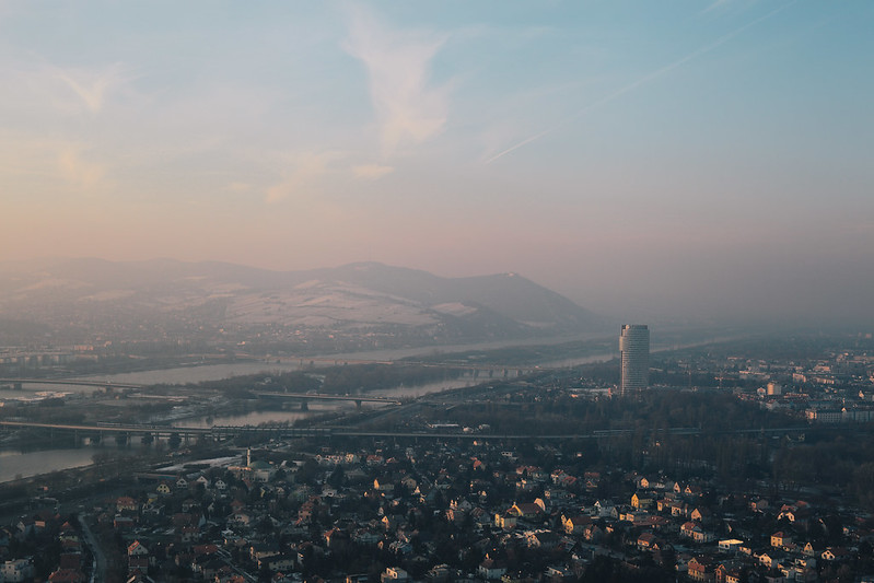 View from the Danube Tower.