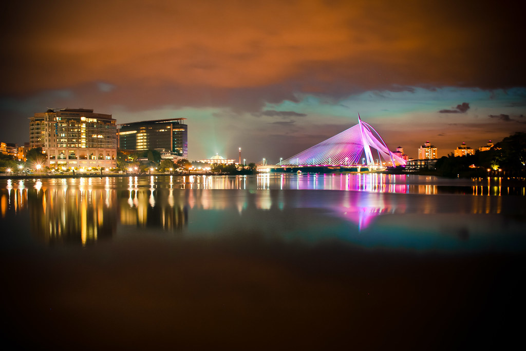 Putrajaya at night