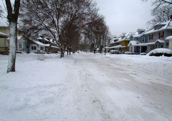 Snow Filled Streets