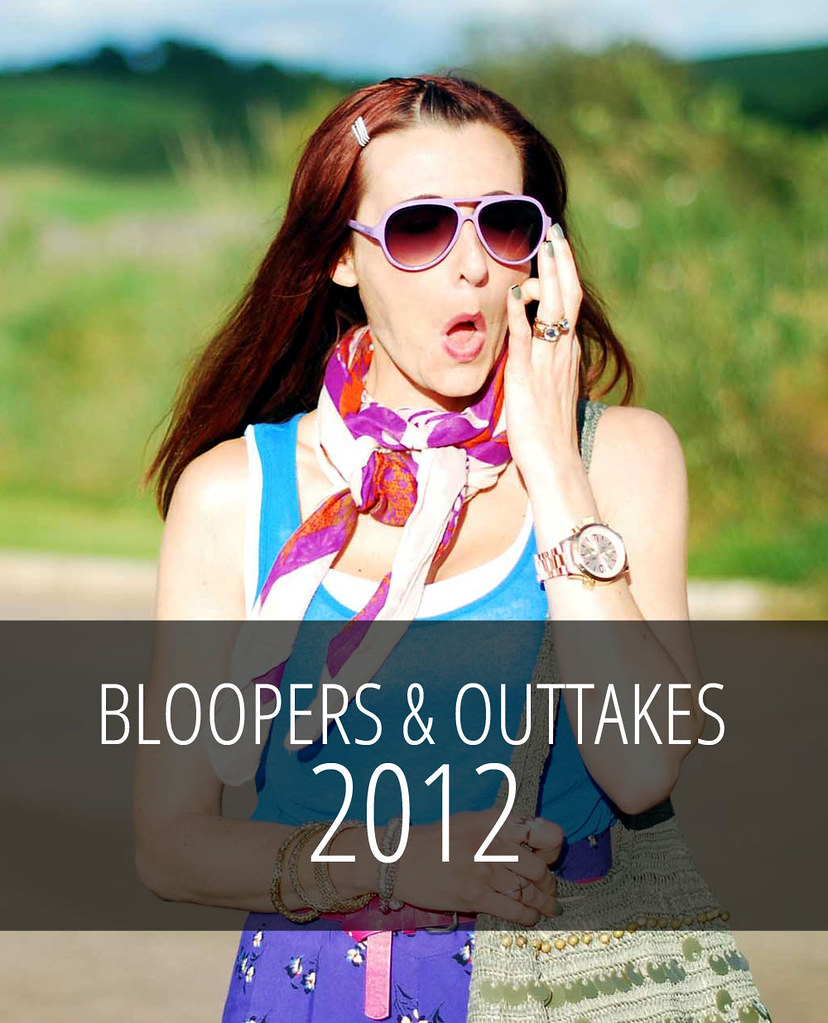 Blogger Bloopers and Outtakes