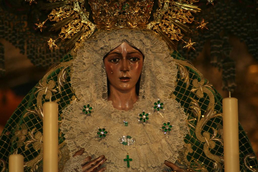 Paso de Nuestra Señora de la Esperanza, 2012