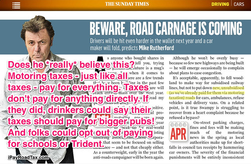Sunday Times columnist calls for booze taxation to be spent on bigger pubs