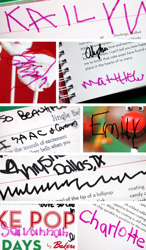 The sweetest signatures