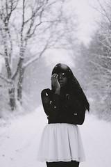 breathing in snowflakes