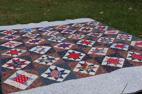 just one star quilt