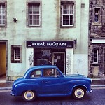 Ideal wheels to tool around #Edinburgh Royal Mile  #blogmanay