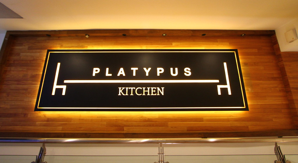 Platypus Kitchen Signage