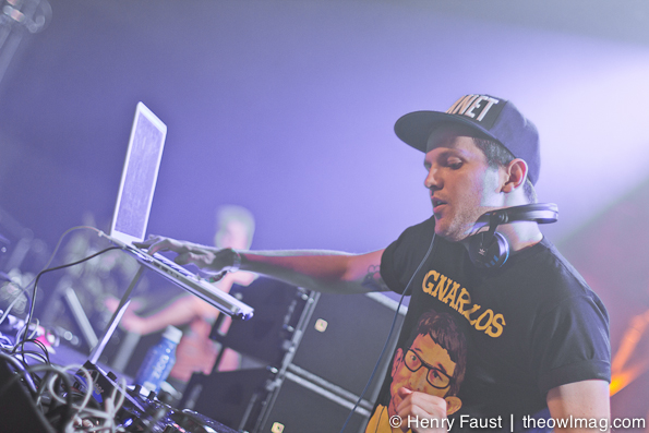 Dillon Francis @ Fort Mason, SF, 12/28/2012