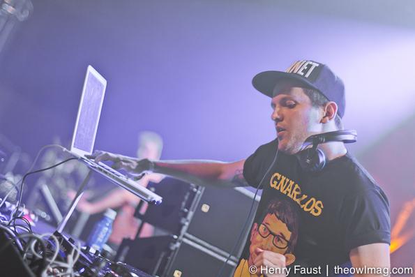 Dillon Francis @ Fort Mason, SF, 12/28/2012