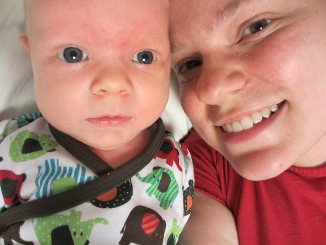 Sander och mamma