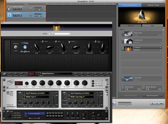 Step By Step: Using S-Gear/Amplitube within Garageband | The