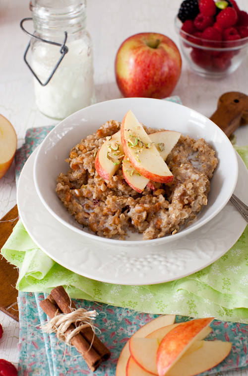 Oats with Apples 2