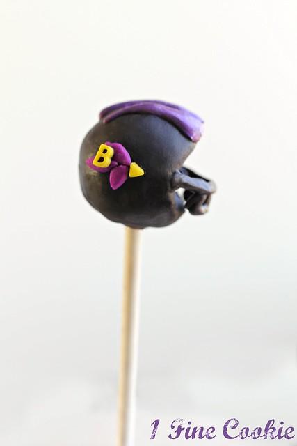 Helmet Cake Pops