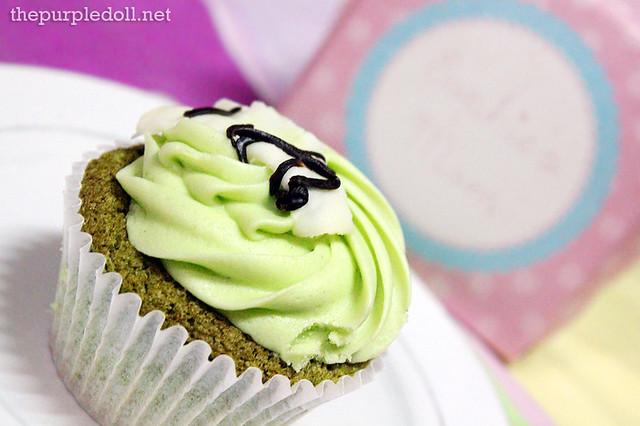 Green Tea Cupcake P70