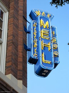 Max Mehl building sign