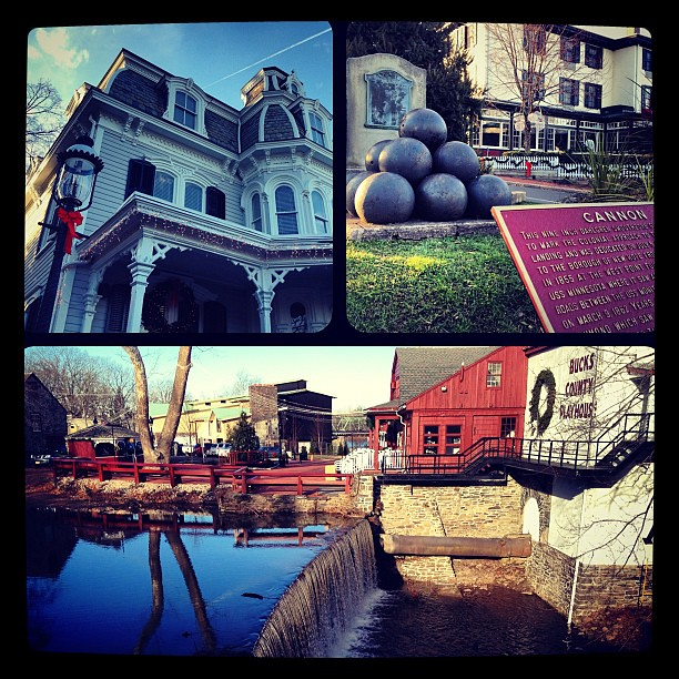 Historic attractions in New Hope PA... Such a cute town!