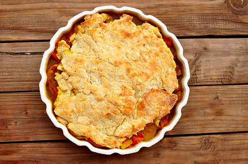 Good Girl Dinette's Chicken Curry Pot Pie