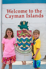 Abbie and Jack arrive in Grand Cayman Islands