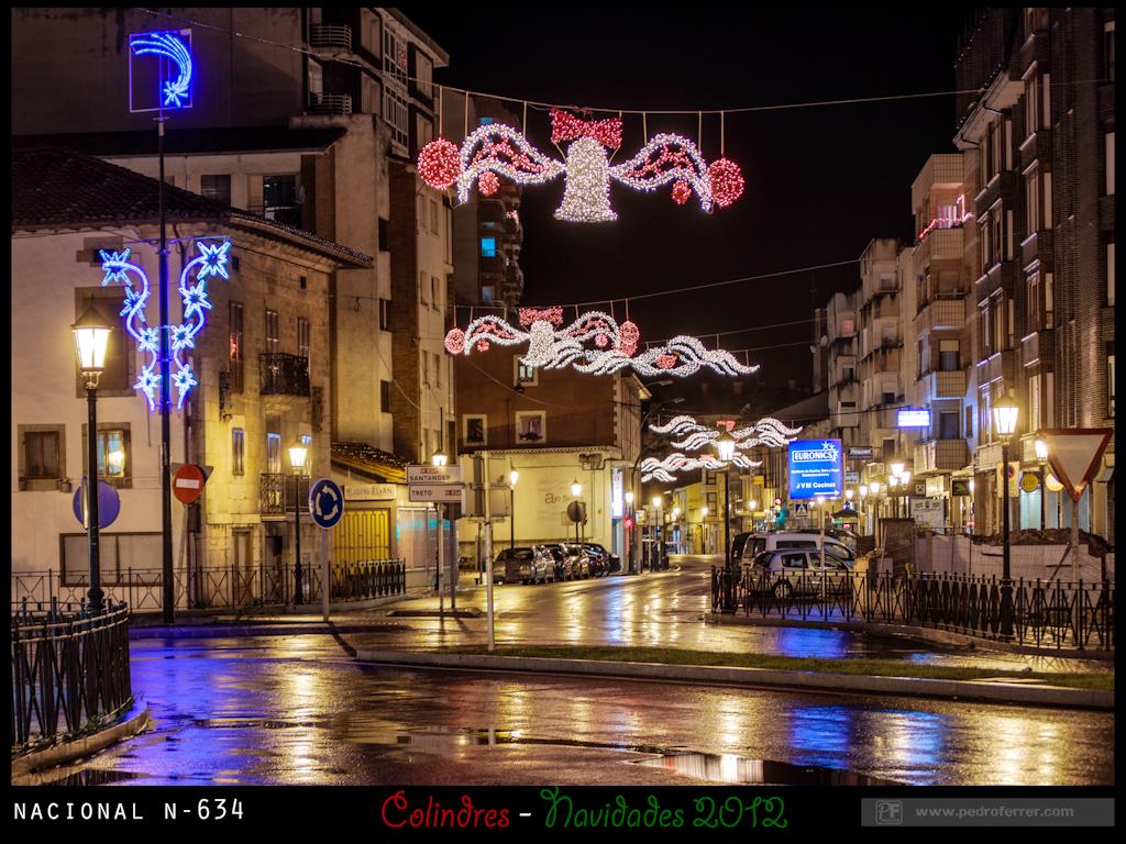 Navidades Colindres 2012 - Nacional N-634 2