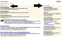 search Dr. Aaronson's webpage wiht google terms patient satisfaction