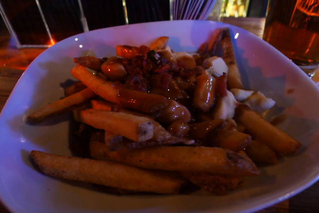 poutine with maple bacon