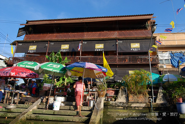 安帕瓦水上市場 Amphawa Floating Market