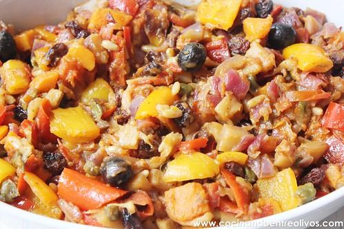 Caponata siciliana www.cocinandoentreolivos (1)