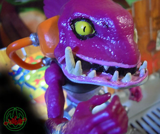 Nickelodeon  TEENAGE MUTANT NINJA TURTLES :: FISHFACE { tOkKUSTOM PROTOYPICAL fish-market WASH } iv (( 2012 ))