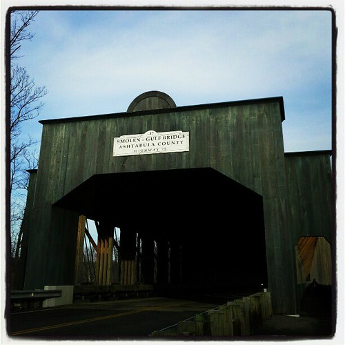 Smolen-Gulf Covered Bridge Ashtabula, Oh #coveredbridge #Ashtabula #ohio #17