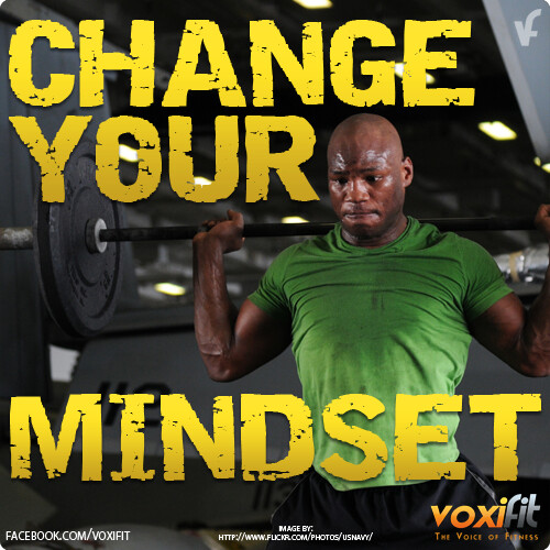 Fitness Motivation from voxifit: Change Your Mindset...