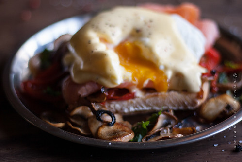 Eggs Royale: yolk