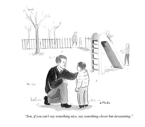 Snark New Yorker Cartoon