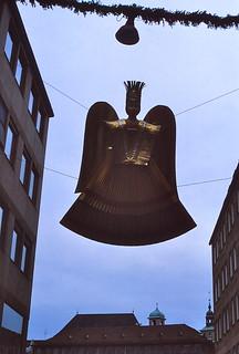 West Germany   -   Nürnberg   -   Weihnachtsmarkt     -   Christmas Angel or Nürnberg Angel   -   Christmas Eve 1979