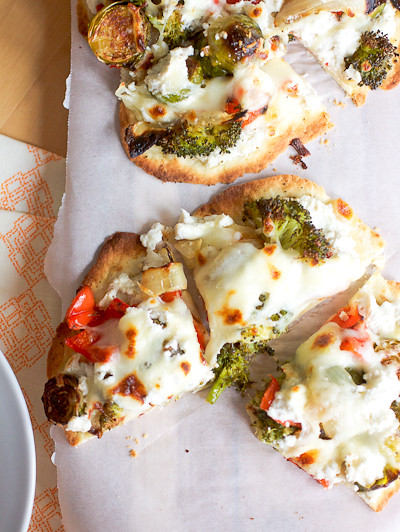Roasted Veggie Pizzas
