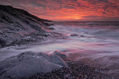 seascape wales sunrise horton gower d800 porteynon