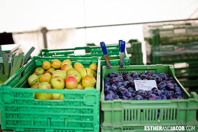 Fresh Fruits at the Market Lucerne / Luzern Switzerland | Travel Photography