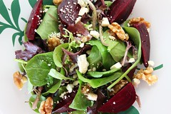 Roasted Beet, Walnut and Blue Cheese Salad by Pennsylvania Terroir