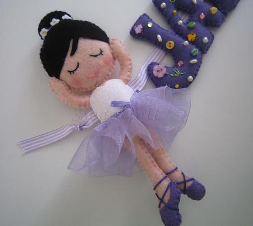 ♥♥♥ A bailarina da Jade ... by sweetfelt \ ideias em feltro