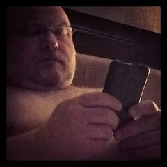 #bearphotoaday - 01/23 - this damn phone will be the #instrument of my destruction. (#iPhoningitin)