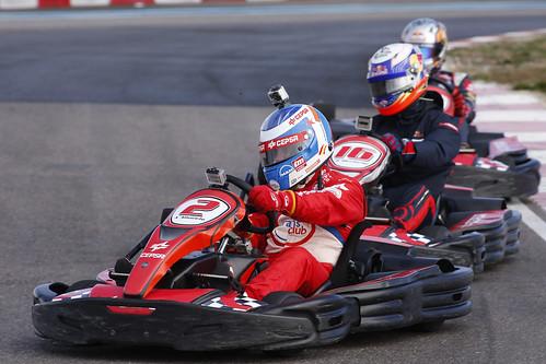 Albacete, Ricciardo y Sainz Jr